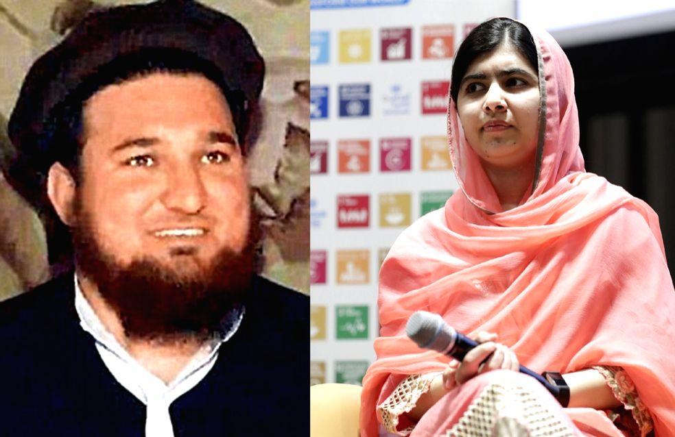 Ehsanullah Ehsan and Malala Yousafzai.