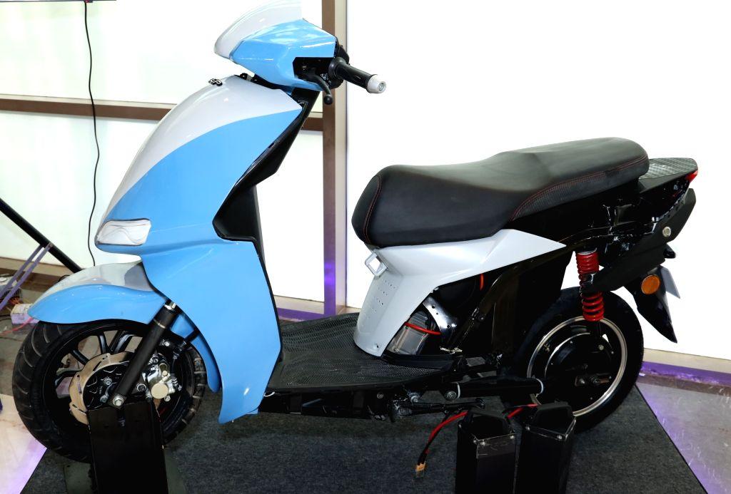 Electric Scooter technology Demonstrator, developed by DEP???s Design Development team.