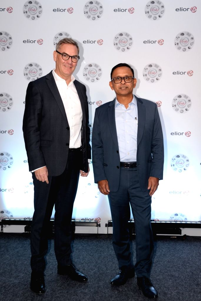 "Elior CEO Philippe Guillemot and Elior India CEO and MD Sanjay Kumar during launch of ""EL Chef"" in Bengaluru on Nov 13, 2019. - Sanjay Kumar"