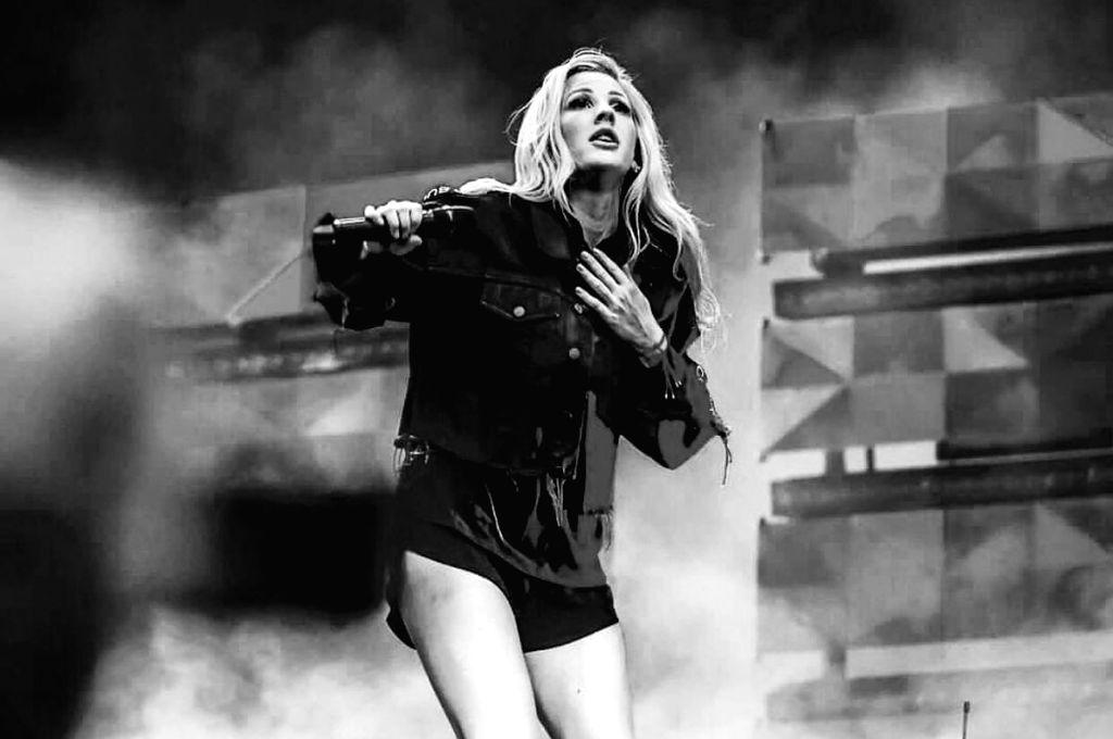 Ellie Goulding. (Photo: Twitter/@elliegoulding)