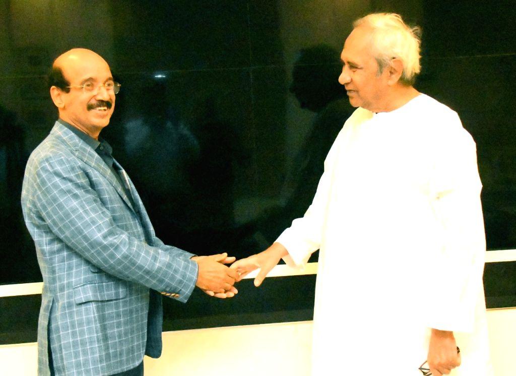 Eminent heart surgeon and Asian Heart Institute (Mumbai) Vice-Chairman Dr. Ramakanta Panda met and donated Rs.1.50 crore to Odisha Chief Minister Naveen Patniak for 'Fani Cyclone' relief ... - Naveen Patniak