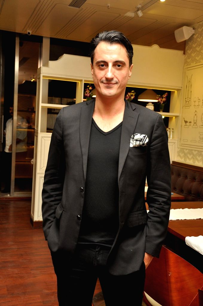 Emmanuel Balayer during the launch of Smoke House Deli BKC branch in Mumbai on Friday, December 20th, 2013.