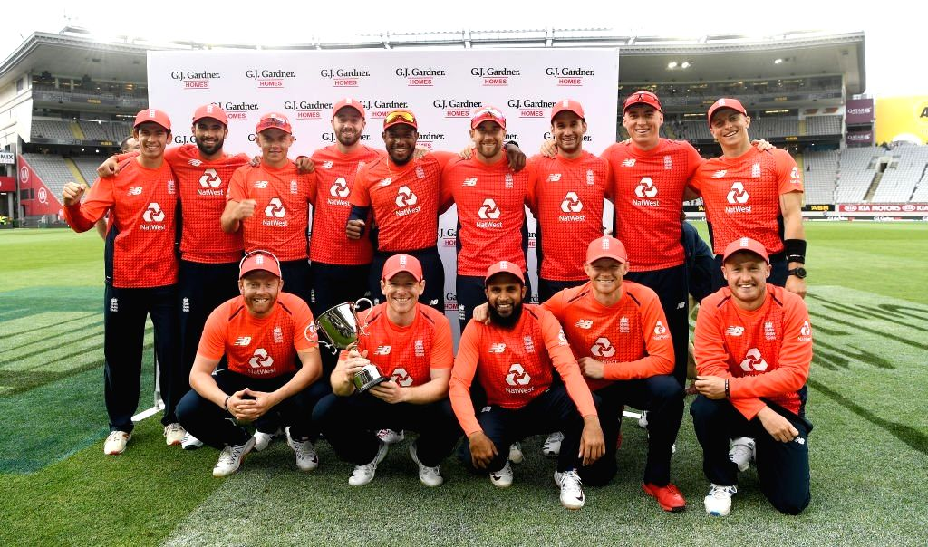 England on Sunday won the the 5th T20I against New Zealand in Super Over in what turned out to be a thriller of a decider in Auckland to clinch the five-match series 3-2. New Zealand opted to bat first in the match which was reduced 11 overs a side d