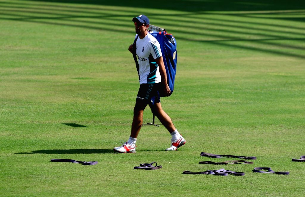Practice session - England