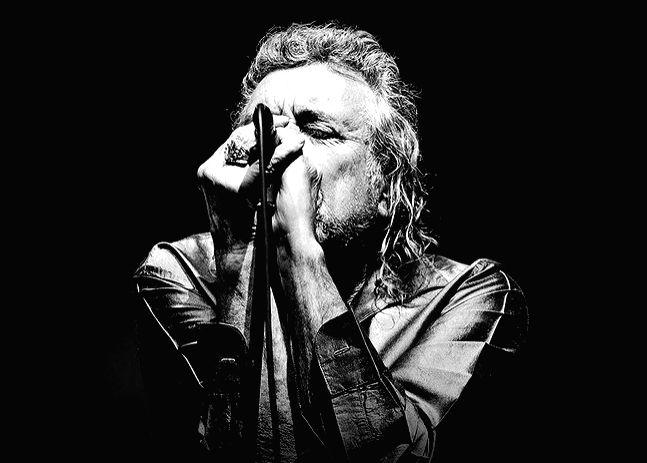 English rock legend Robert Plant.(photo:instagram)