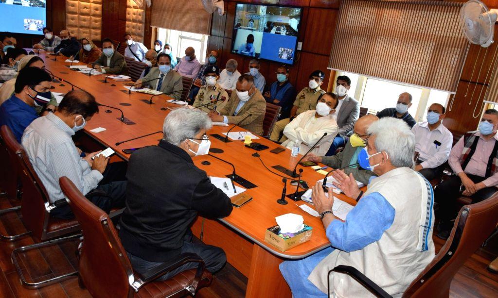 Enhance Covid care facilities, J&K LG to army