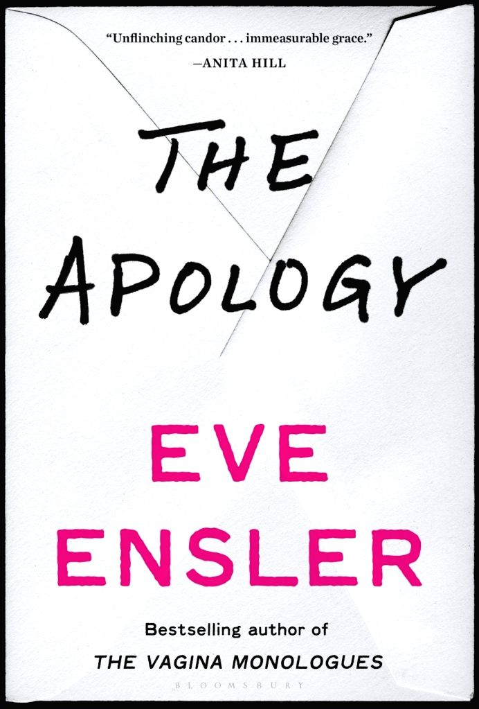 Ensler's latest book The Apology
