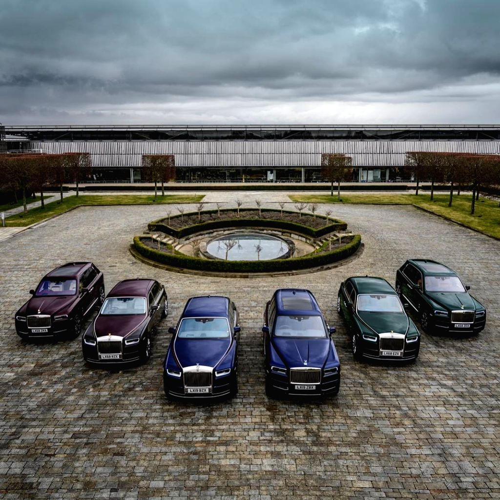 """Entrepreneur Reuben Singh -- also known as the Bill Gates of Britain -- took the Internet by storm when he updated the picture of his six newly-purchased Rolls-Royce luxury cars and added them to his personal """"Jewels collection by Singh"""" fleet that c - Reuben Singh"""