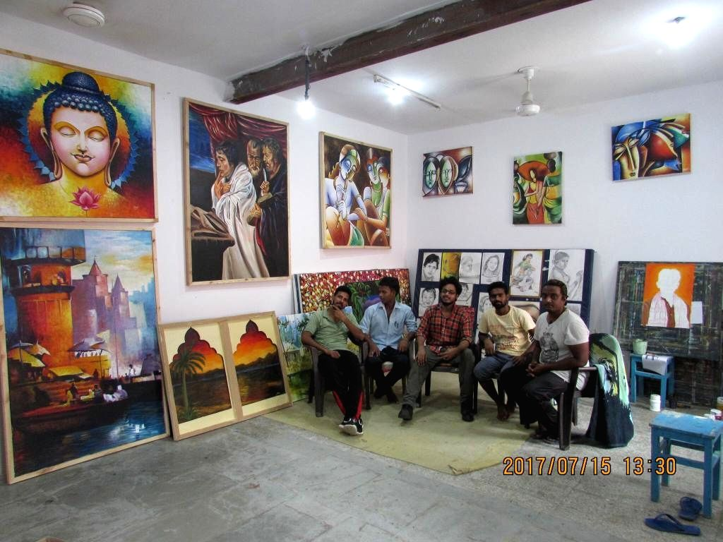 Equipped with an in-house art gallery now, the 'Tihar School of Art' has sold close to 60 artworks since its inception.
