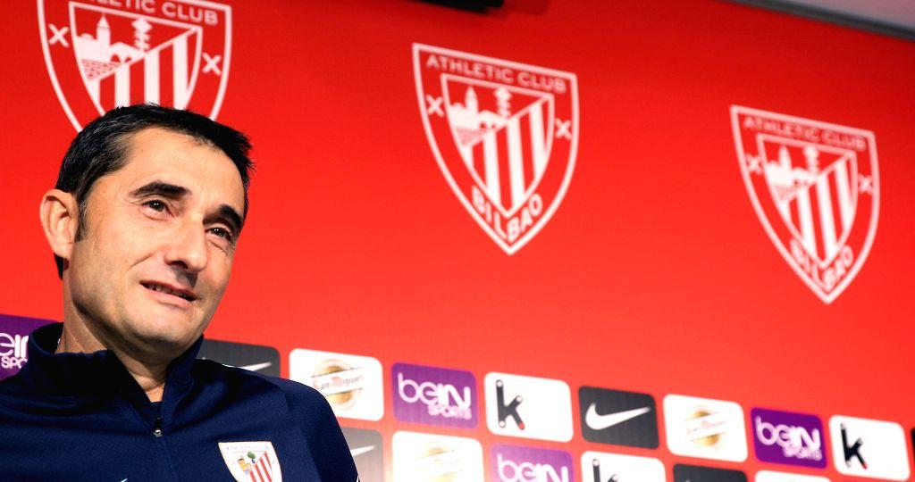 Ernesto Valverde. (File Photo: EFE/Luis Tejido/IANS)