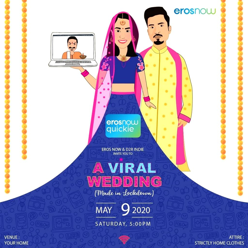 Eros now special web series 'A viral shadi'.