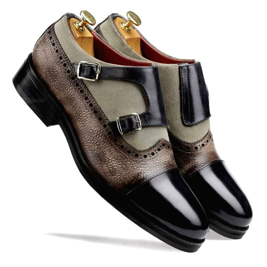 Escaro Royal The Alexei Stylish Double Monk for Men