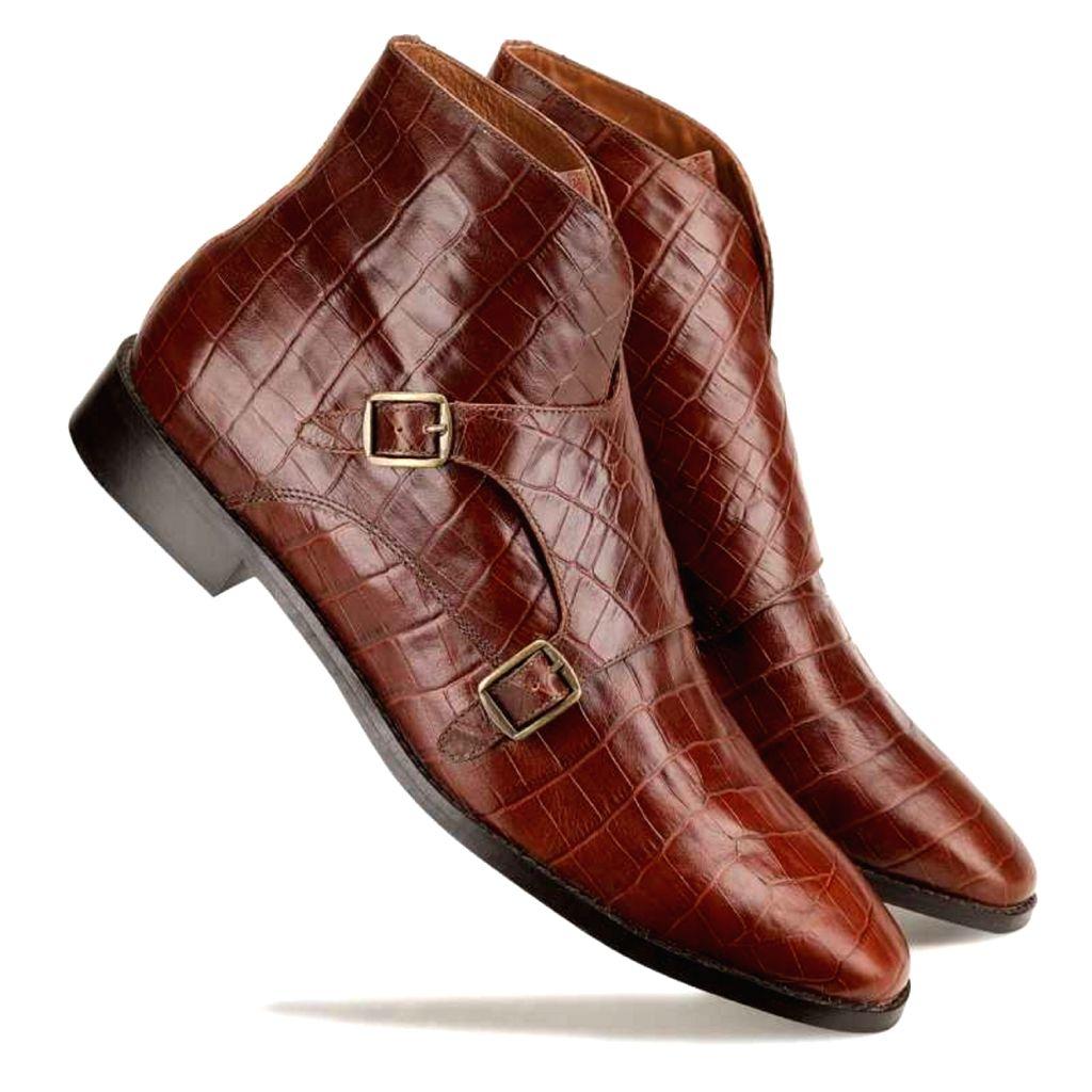 Escaro Royal The Branco Ankle Boot in Brown for Men