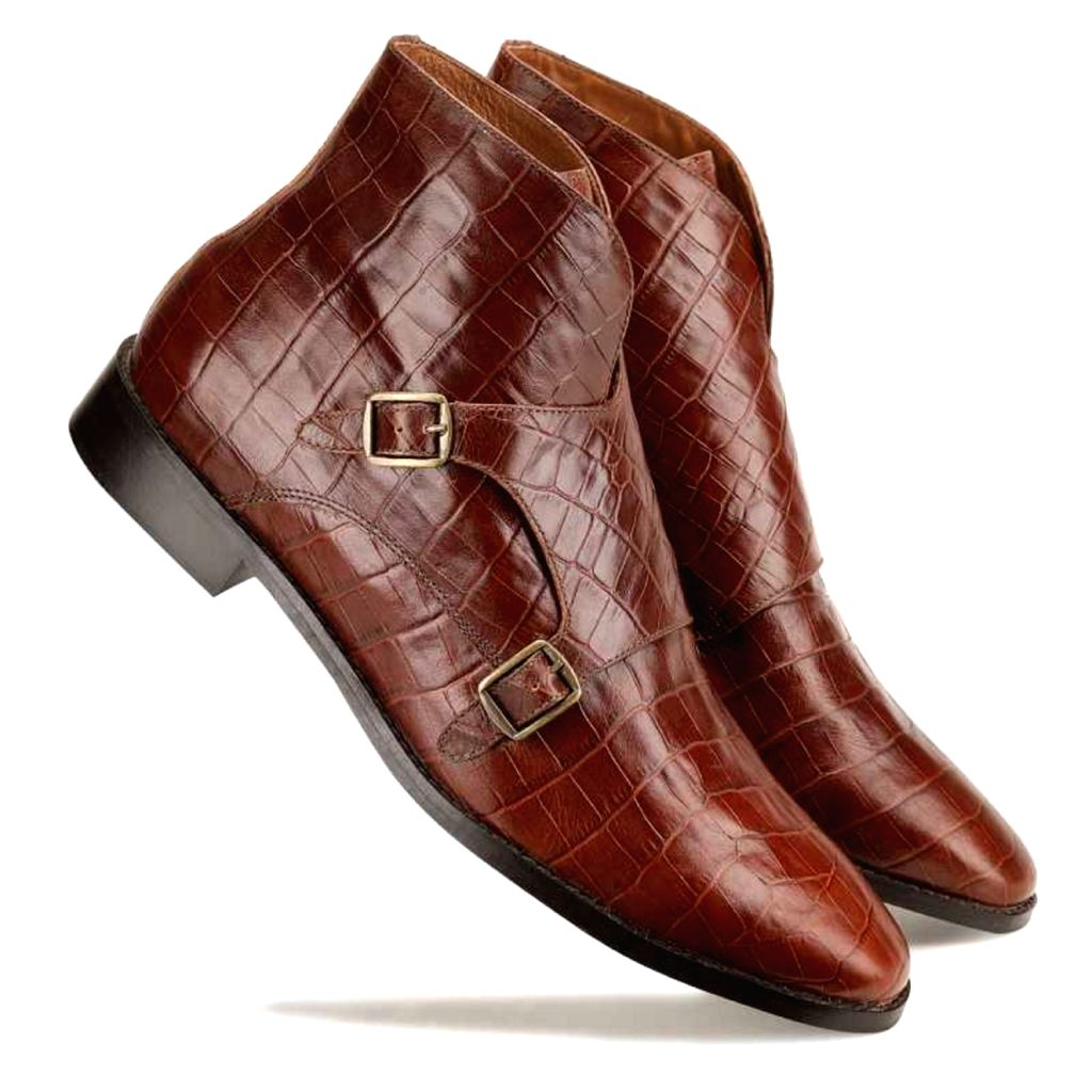 Escaro Royal The Branco Ankle Boot in Brown for Men