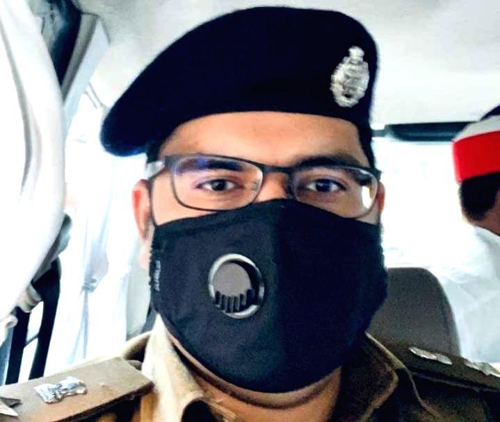 Etawah District UP Senior Superintendent Of Police  Akash Tomar.