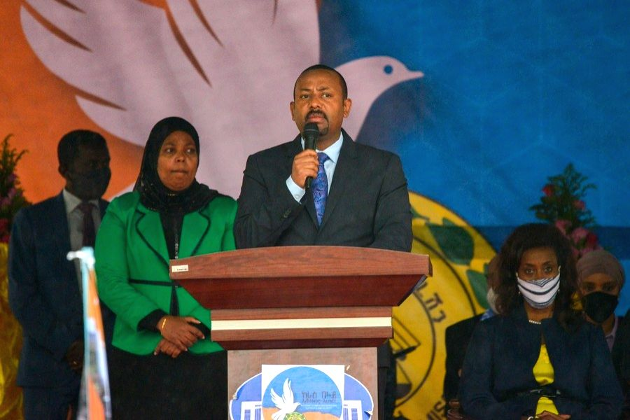 Ethiopian PM says military operation in Tigray 'progressing well'