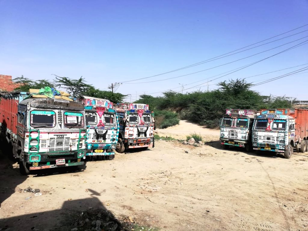Even as the Centre has allowed trucks to ply on National Highways from April 20 onwards amid the nationwide lockdown, only 20 per cent of the trucks in the country are presently ferrying essential items whereas the supply of non-essential items remai