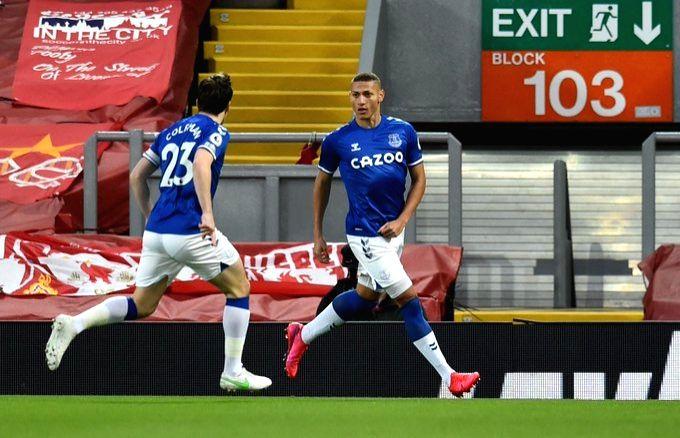 Everton finally win at Anfield, Chelsea unbeaten under Tuchel.(photo:Premier League Twitter)