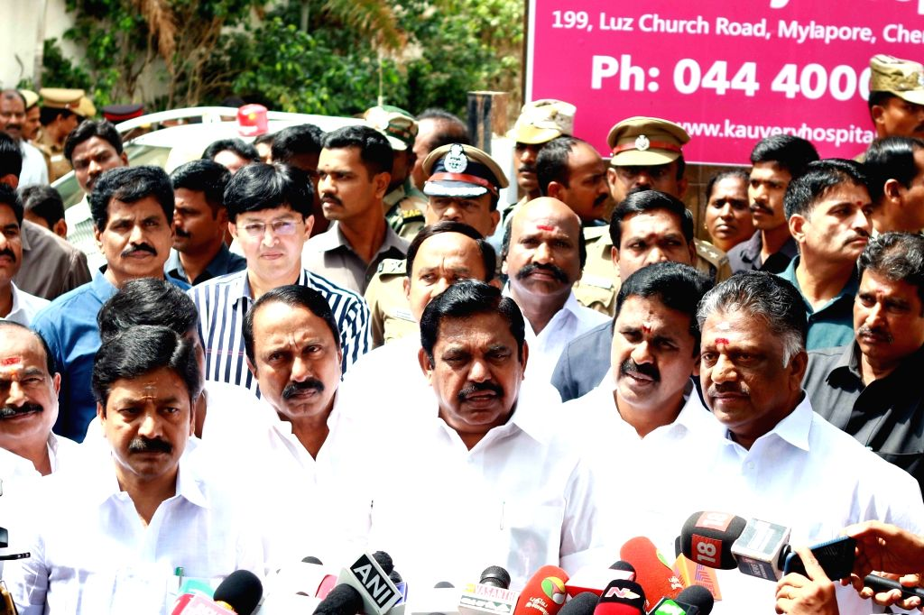 ex-MP among 8 dismissed by AIADMK for anti-party acts