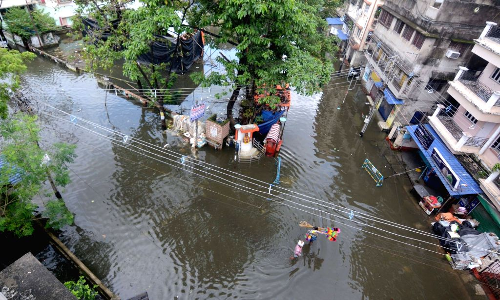 Excess rainfall in Gangetic West Bengal raises concern.