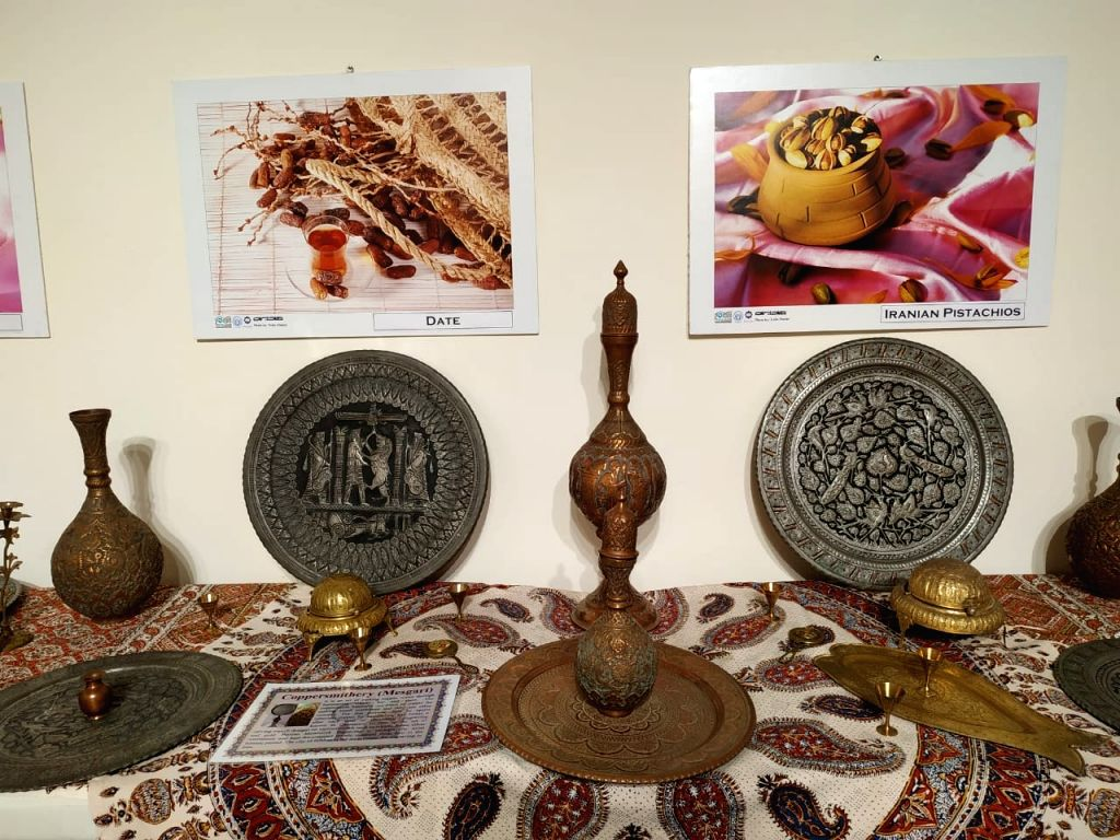 Exhibition of Iranian Arts and Handicrafts. (Source: IGNCA)