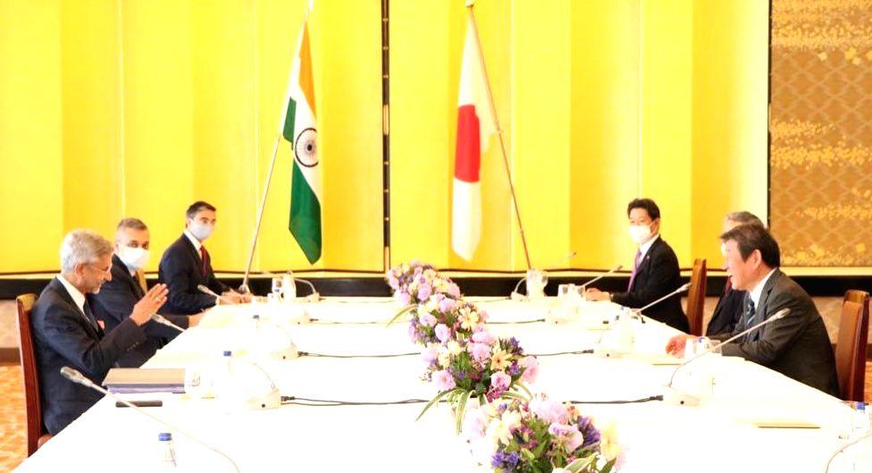 External Affairs Minister S. Jaishankar holds India-Japan Strategic Dialogue with Japanese Foreign Affairs Minister Toshimitsu Motegi in Tokyo, on Oct 7, 2020. - S. Jaishankar