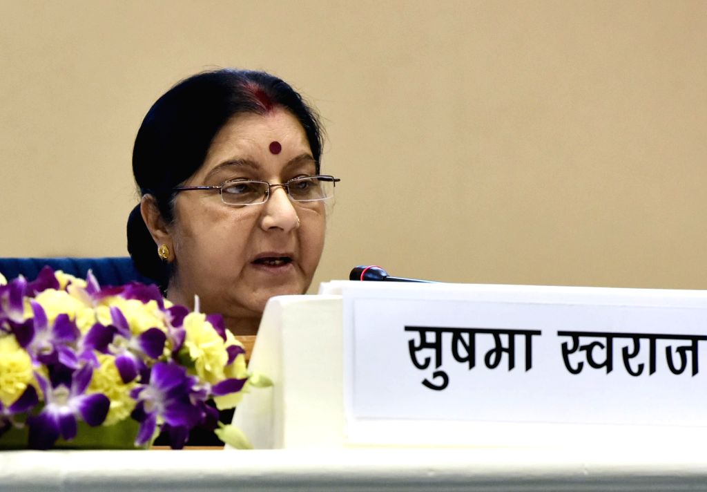 External Affairs Sushma Swaraj. (Photo: IANS/PIB) - Sushma Swaraj