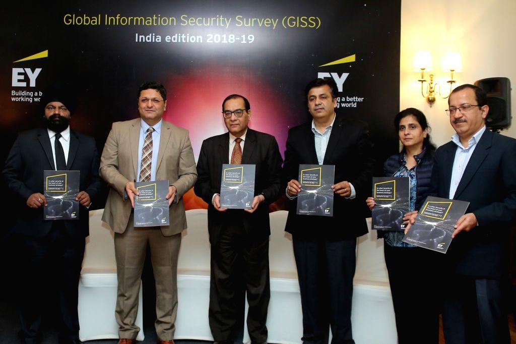 EY India Partner - Cyber Security Jaspreet Singh,  EY India Partner - Cyber Security Burgess Cooper,  PMO Cyber Security Chief Gulshan Rai, Concentrix Director - Global Security Rishi ...