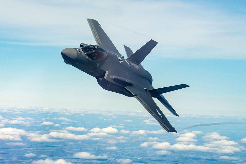 F-35 jet.