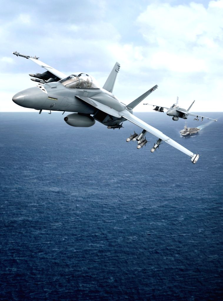 F/A-18 Super Hornet fighters. (File Photo: IANS)