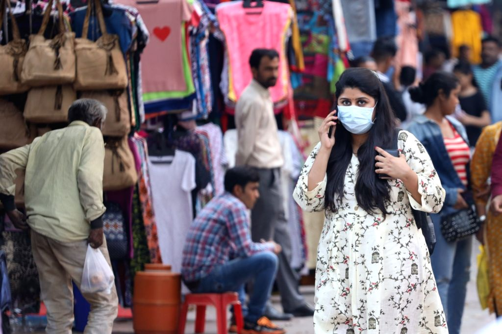 Face masks, hand sanitisers sell at premium in NE due to shortage