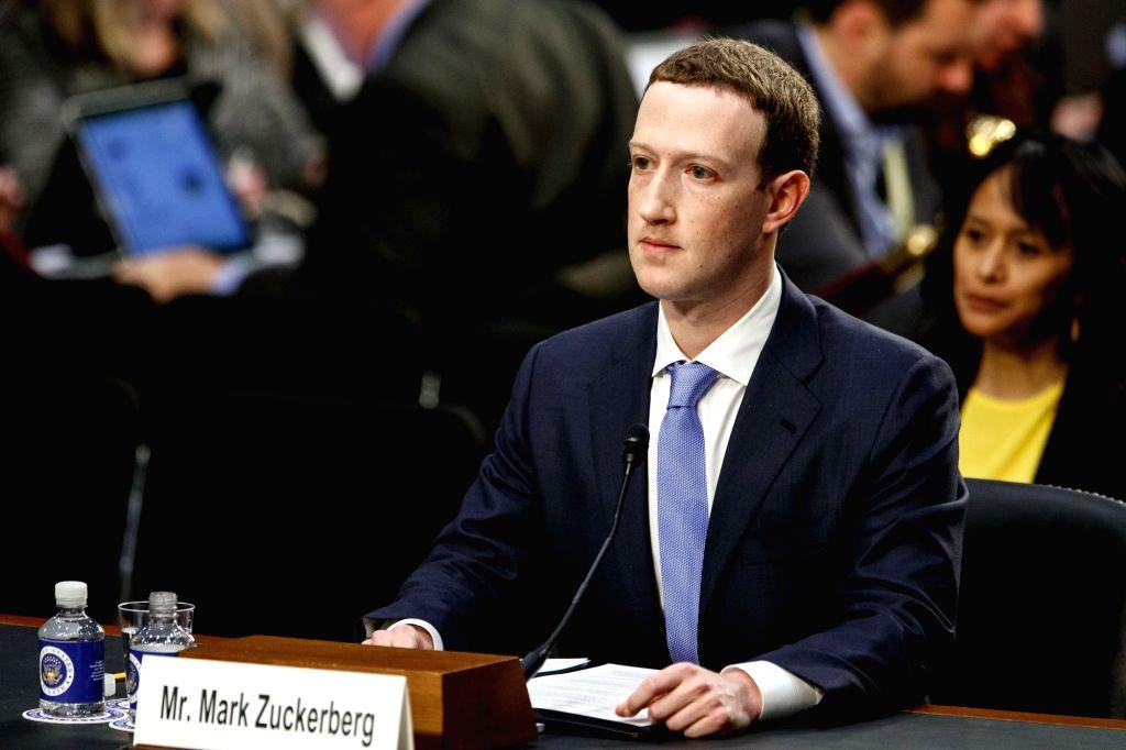 Facebook CEO Mark Zuckerberg. (Xinhua/Ting Shen/IANS)