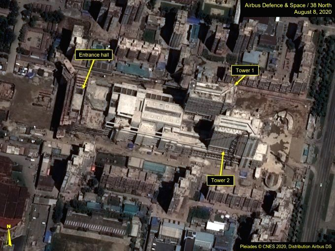 Facilities at N.Korean nuclear complex may be damaged by flood.