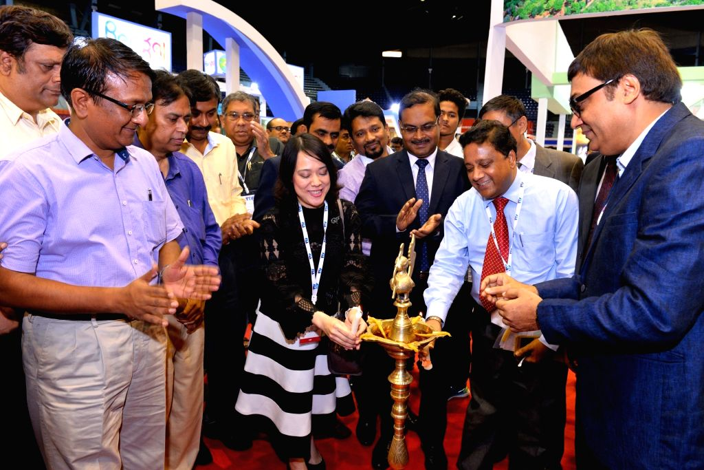 Fairfest Media Ltd Chairman and CEO Sanjiv Agarwal, Bangladesh Tourism Board Joint Secretary Nikhil Ranjan Roy and Royal Thai Consulate General Deputy Consul General Sirinapa Sinpattananukul ...