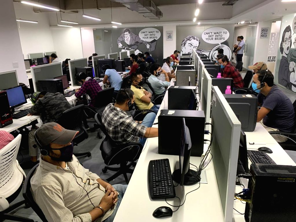 Fake call centre busted in Gurugram.
