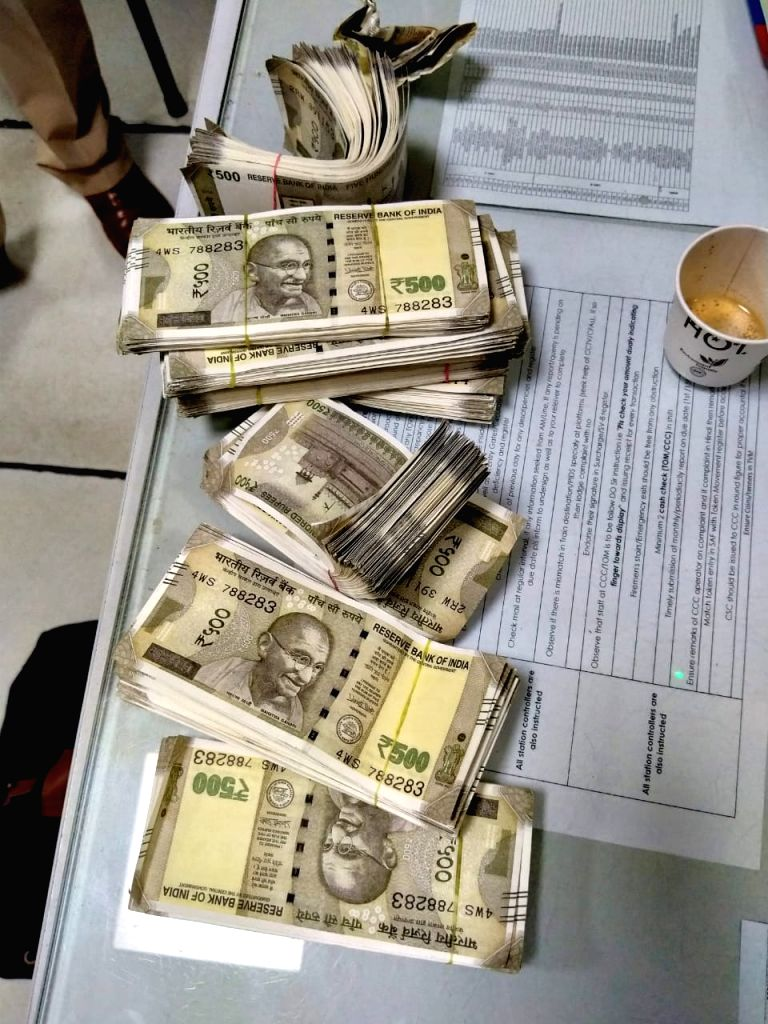 Fake Indian currency,
