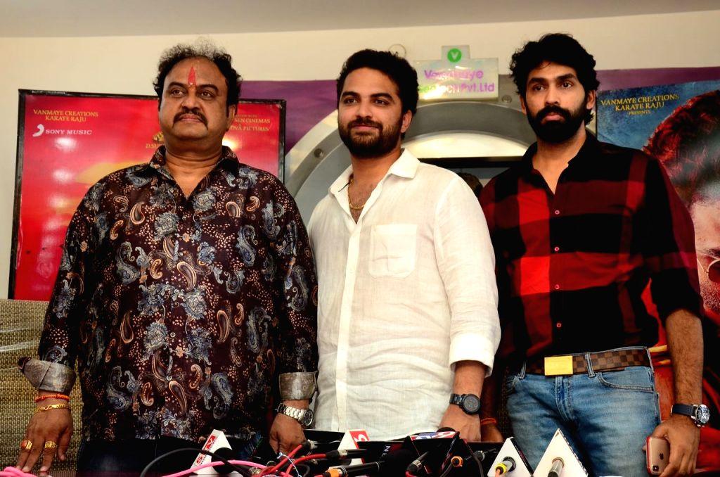 "FalaknumaDas"" Press Meet in Hyderabad."