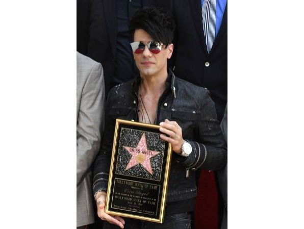 Famous American magician Criss Angel.