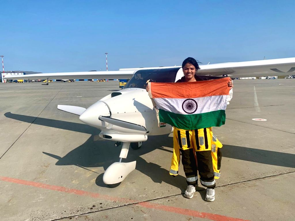 Far Eastern: Mumbai girl Aarohi Pandit, currently on a global flight in a small plane, on Wednesday created history by becoming the first woman pilot to cross both Atlantic Ocean and Pacific Ocean ...