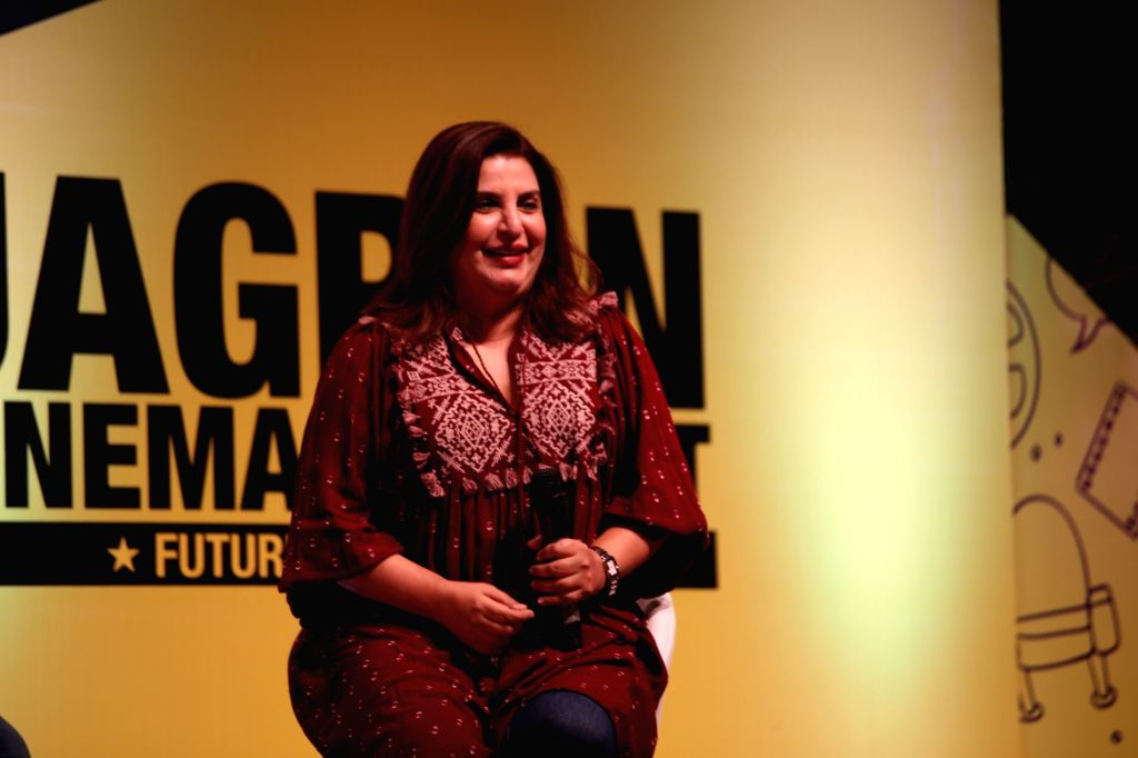 Farah Khan. (Photo: Amlan Paliwal/IANS) - Farah Khan