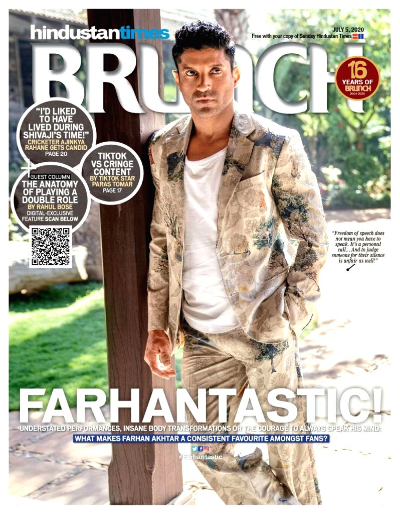 """Farhan Akhtar appears in a """"Super Cool"""" look on the latest cover of ing Magazine!. - Farhan Akhtar"""