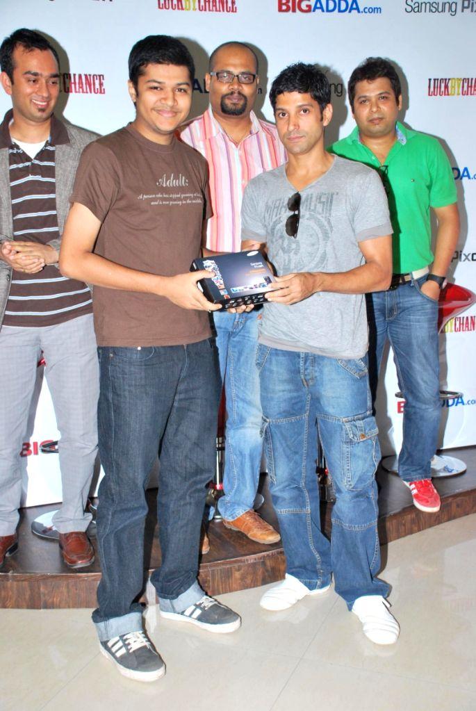 Farhan Akhtar contest with Big Adda.