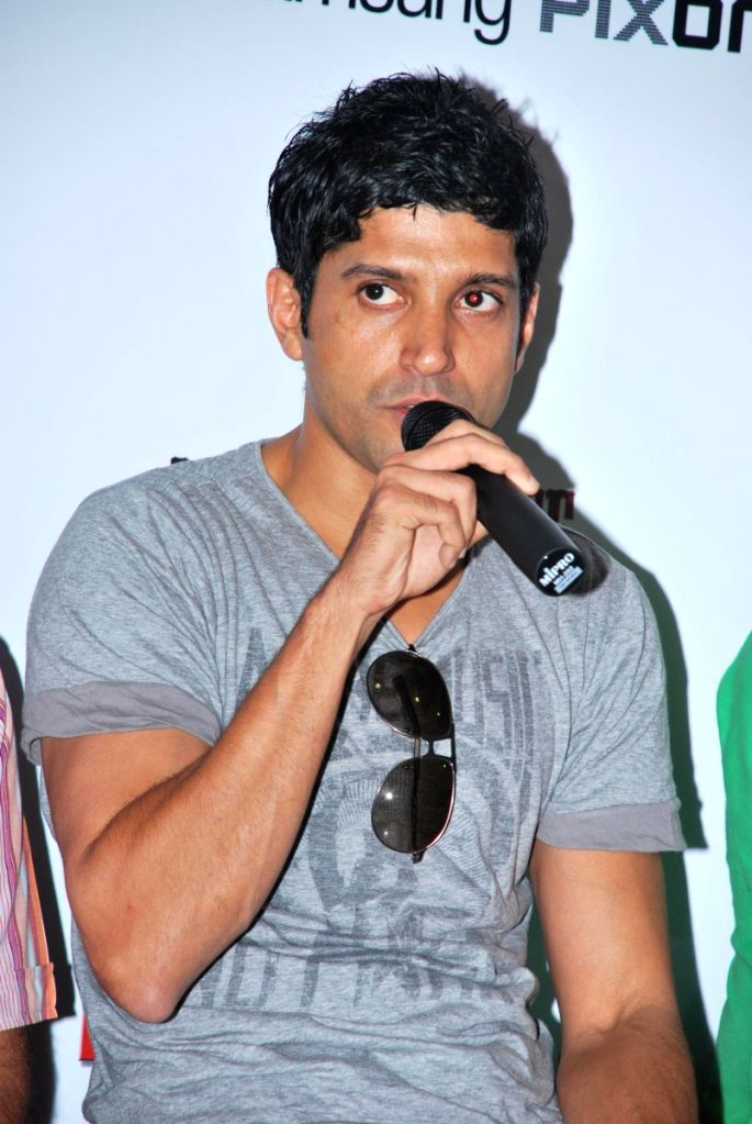 Farhan Akhtar contest with Big Adda.