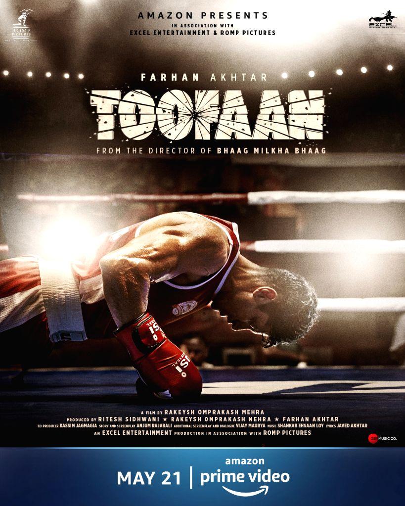 Farhan Akhtar-starrer 'Toofaan' set for OTT release on May 21 - Farhan Akhtar