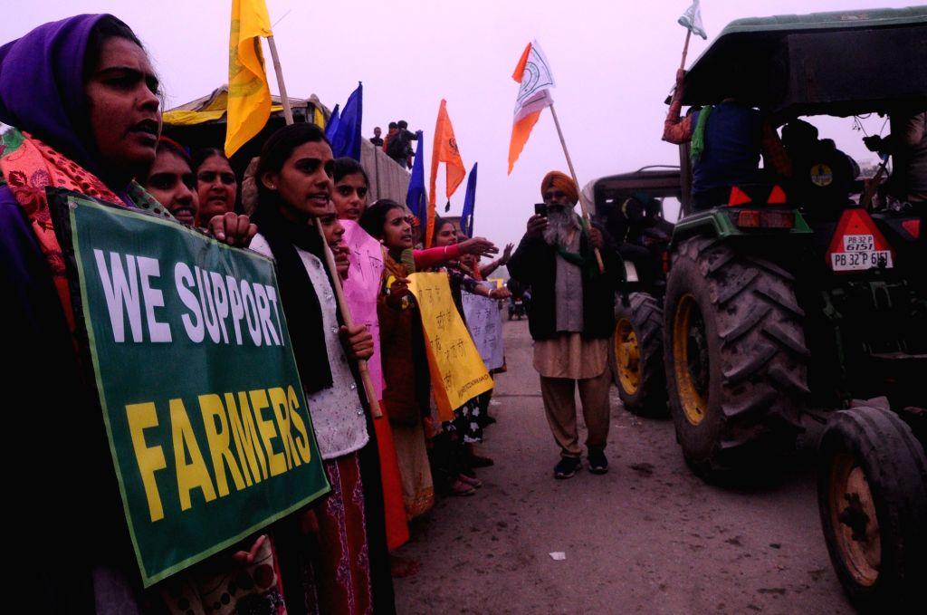 Farmers to observe 'Mahila Kisan Diwas' as stir enters 55th day