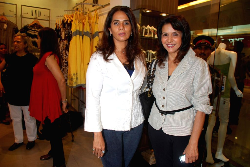 Fashion designer Anita Dongres's new collection launch.