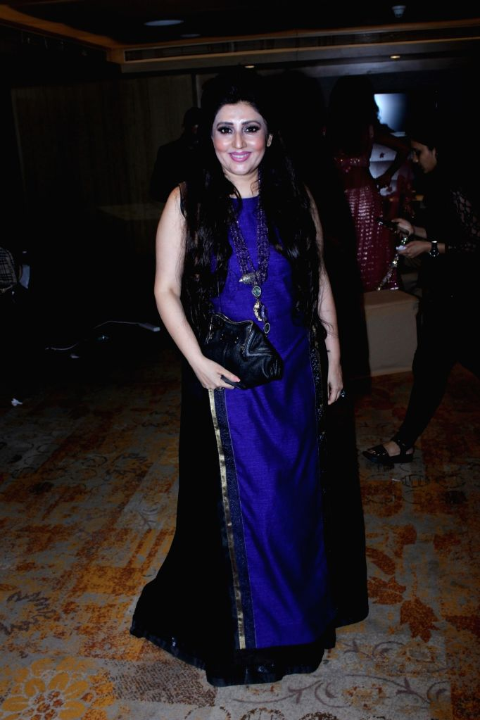 Fashion Designer Archana Kochhar poses for a photograph during a programme in Mumbai on July 1, 2017.