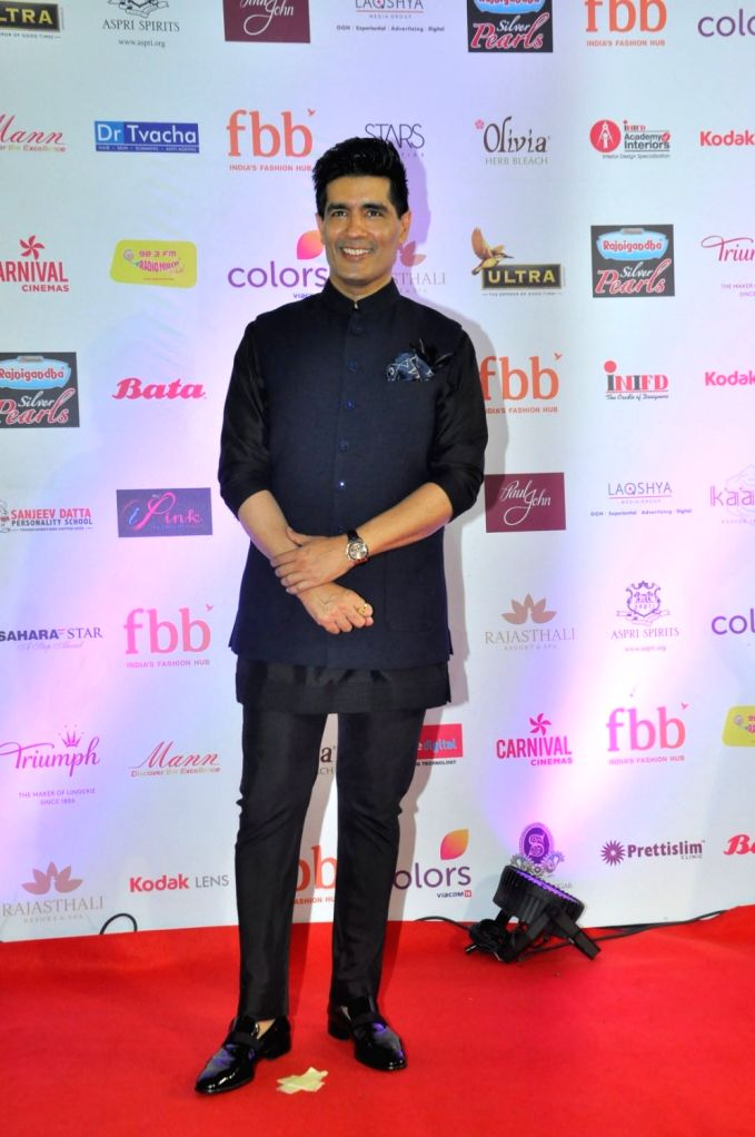 Fashion designer Manish Malhotra during the grand finale of fbb Femina Miss India 2017 in Mumbai, on June 25, 2017. - Manish Malhotra