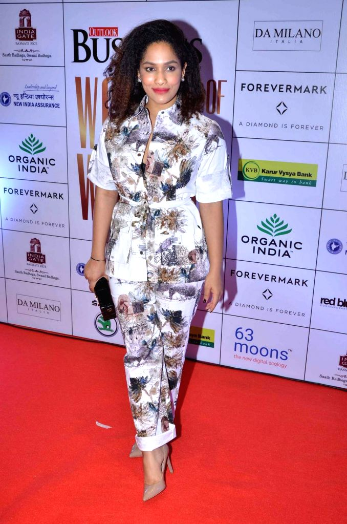 Fashion designer Masaba Gupta during the Business Women Entrepreneurs- The Super Achievers in Mumbai on Oct 21, 2015. - Masaba Gupta