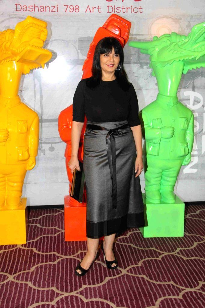 Fashion designer Neeta Lulla during the Krishika Lull`s party, in Mumbai on July 2, 2016.